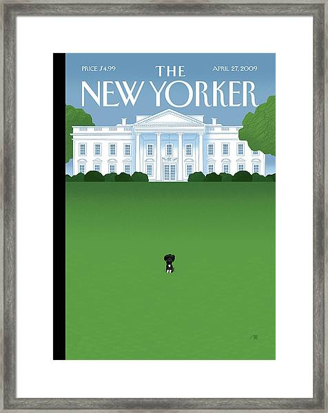 New Yorker April 27th, 2009 Framed Print