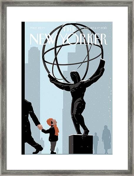 New Yorker December 20th, 2010 Framed Print