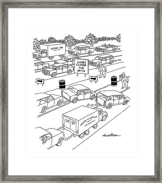 New Yorker September 20th, 2004 Framed Print