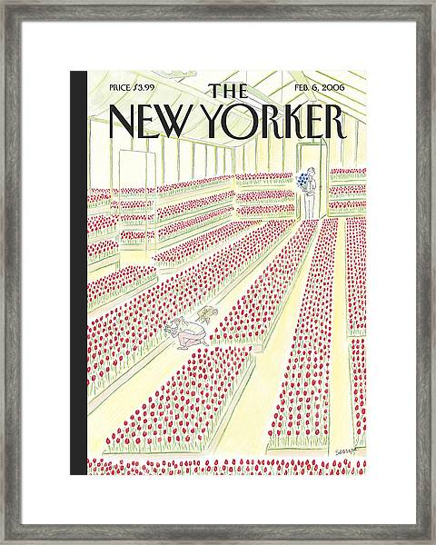 New Yorker February 6th, 2006 Framed Print