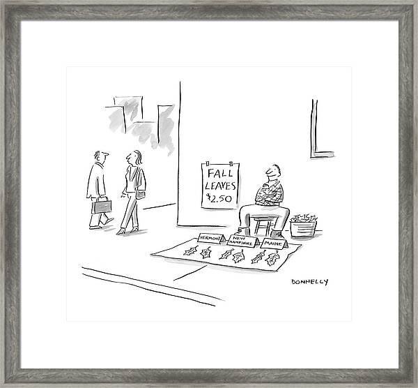 New Yorker November 14th, 2005 Framed Print