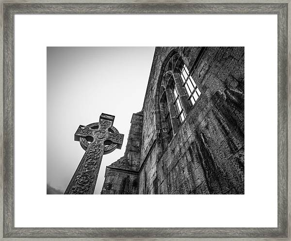 700 Years Of Irish History At Quin Abbey Framed Print
