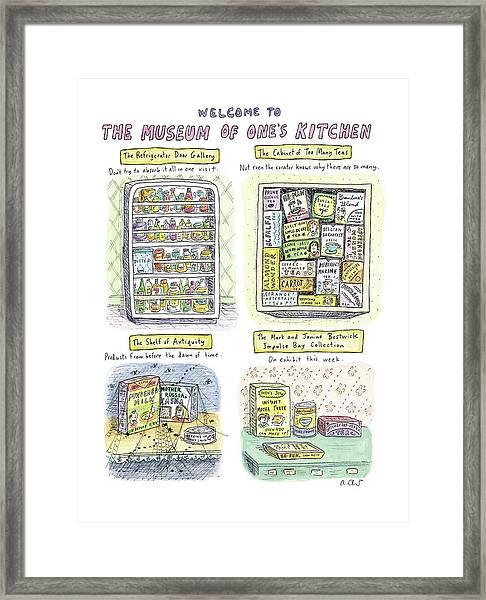 New Yorker August 13th, 2007 Framed Print