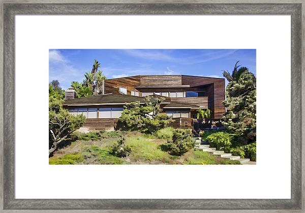 763 Sunset Cliffs Boulevard Framed Print