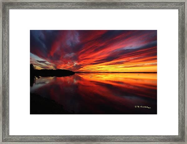 Missisquoi Sunset Framed Print