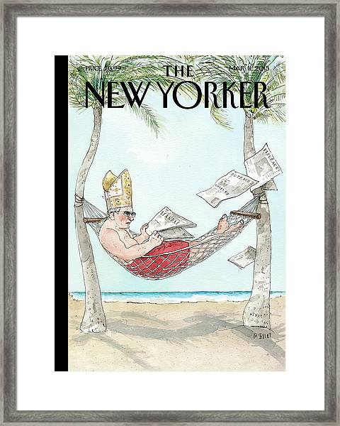 New Yorker March 11th, 2013 Framed Print