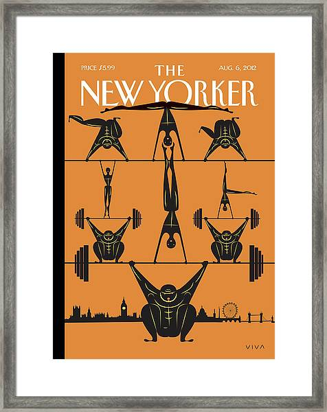 New Yorker August 6th, 2012 Framed Print