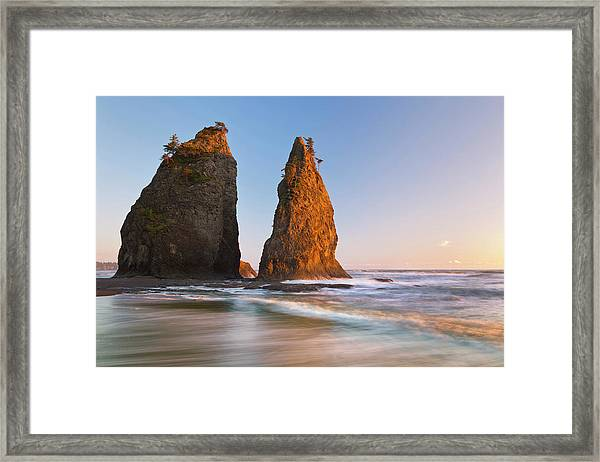 Usa, Washington, Olympic National Park Framed Print by Jaynes Gallery