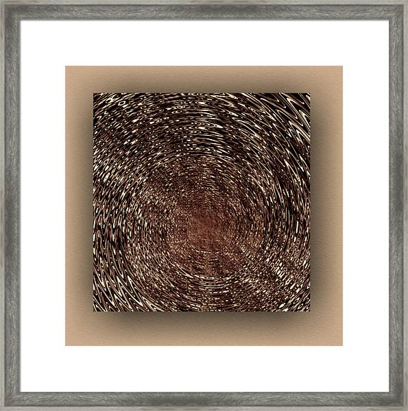 Framed Print featuring the digital art Contemporary by Mihaela Stancu