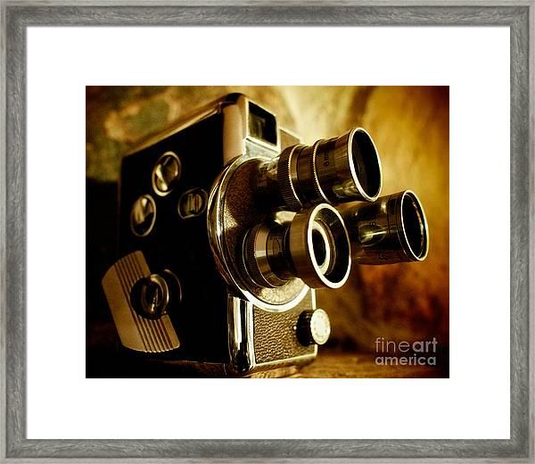 8mm Framed Print