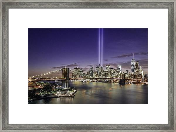 9-11-14 Framed Print