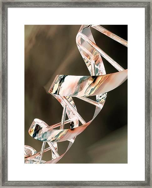 Dna Framed Print