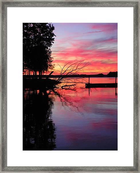 Sunset 9 Framed Print