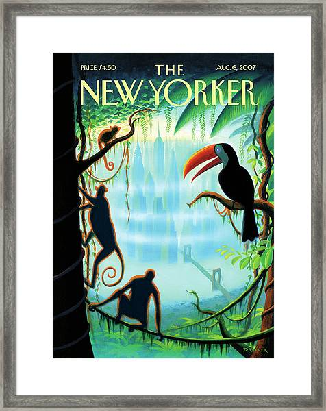 New Yorker August 6th, 2007 Framed Print by Eric Drooker