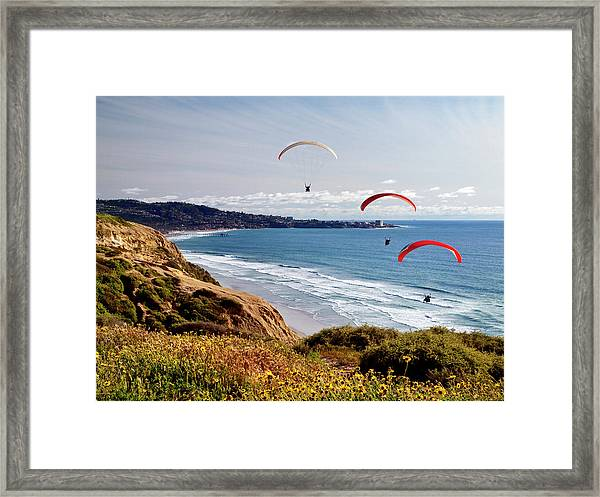 Usa, California, La Jolla Framed Print