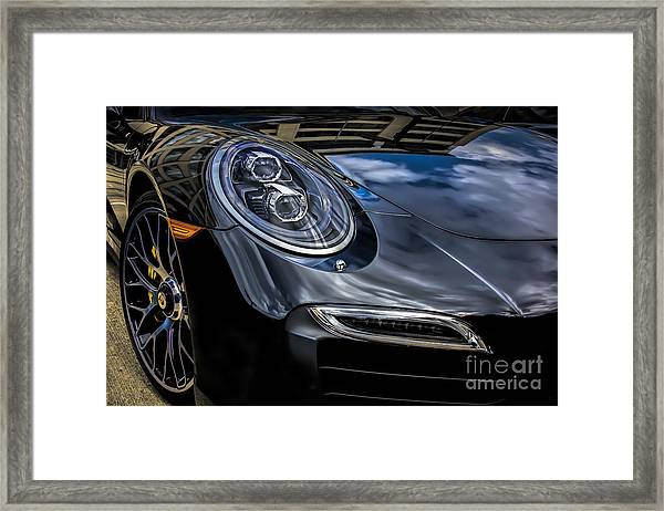911 Turbo S Framed Print