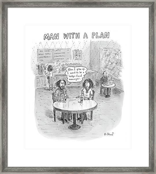 New Yorker April 9th, 2007 Framed Print