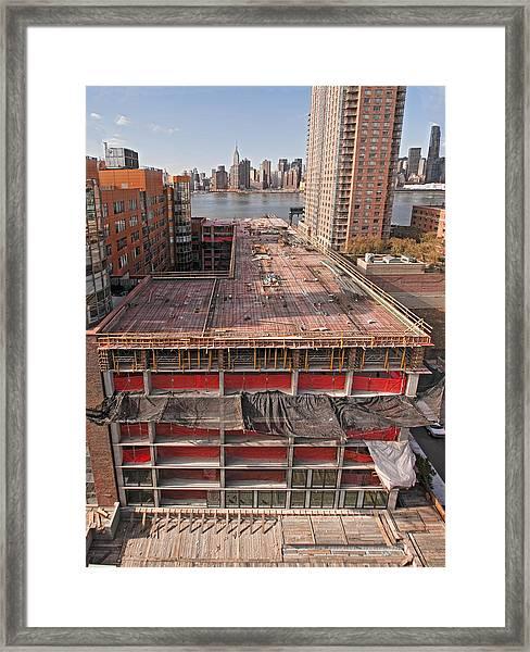 9th Floor Forms Framed Print