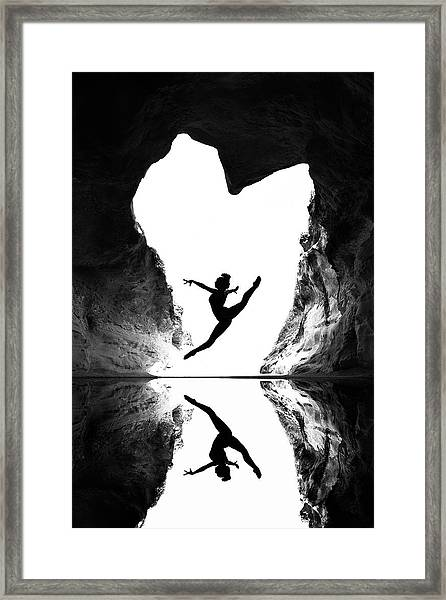 A Beating Heart Framed Print by E.amer