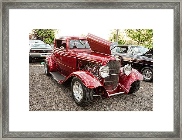 A Beauty Framed Print