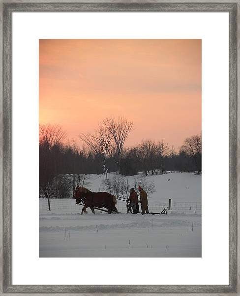 A Breath Of Fresh Air Framed Print