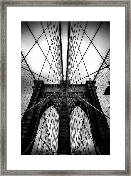 A Brooklyn Perspective Framed Print