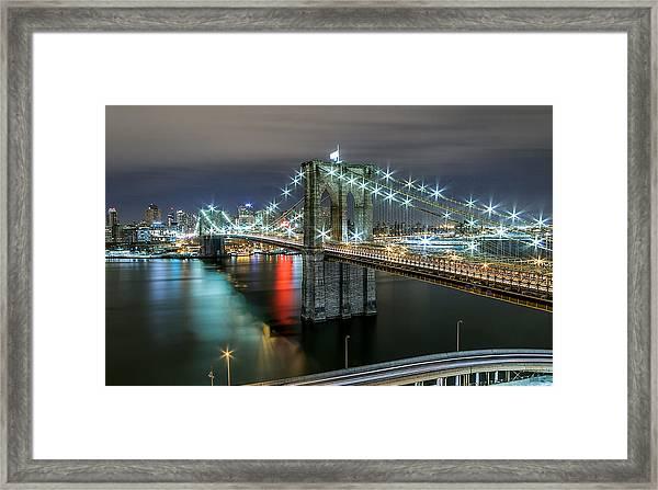 A Brooklyn View  Framed Print