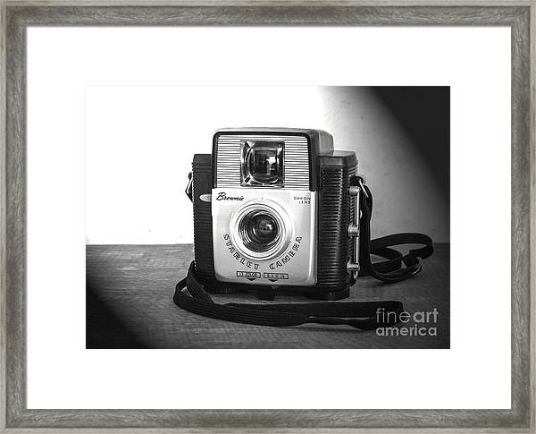 A Brownie Moment Framed Print