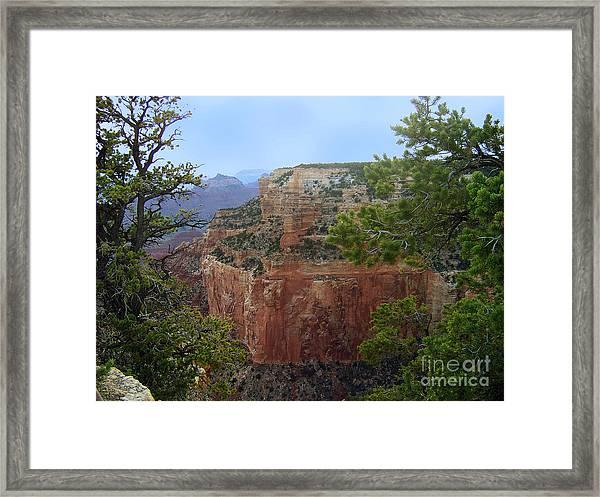 A Cape Royal Plateau Framed Print