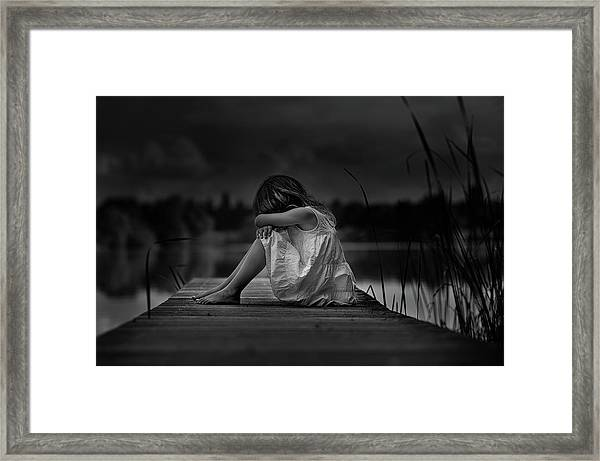 A Childhood Framed Print by Christoph Hessel