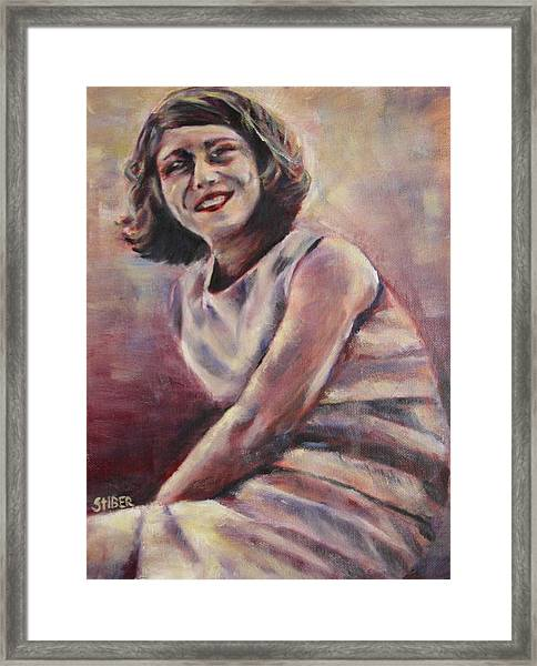 A Classic Beauty Framed Print by Kathy Stiber