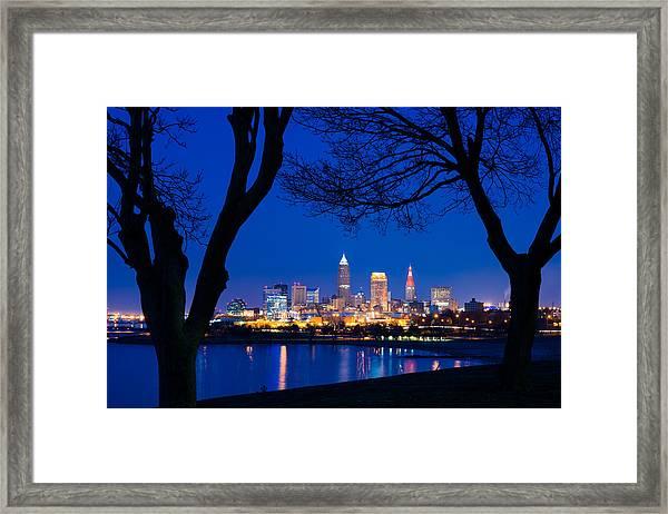 A Cleveland Romance Framed Print