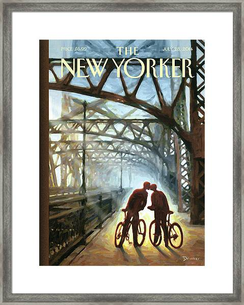 Fifty Ninth Street Bridge Framed Print