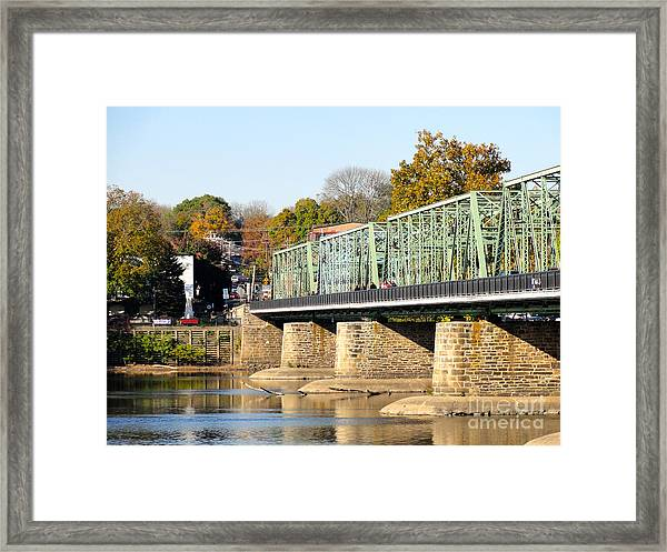 A Day For Tourists Framed Print