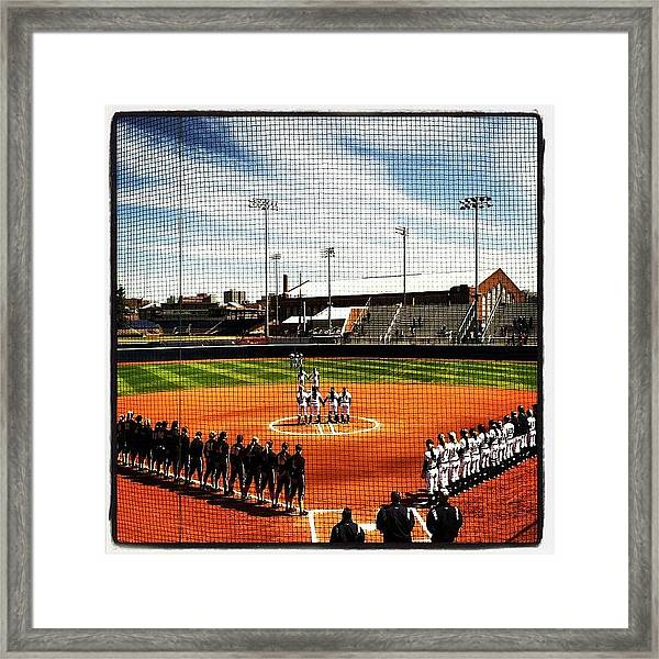 A Day In Ann Arbor To Show Some Love Framed Print