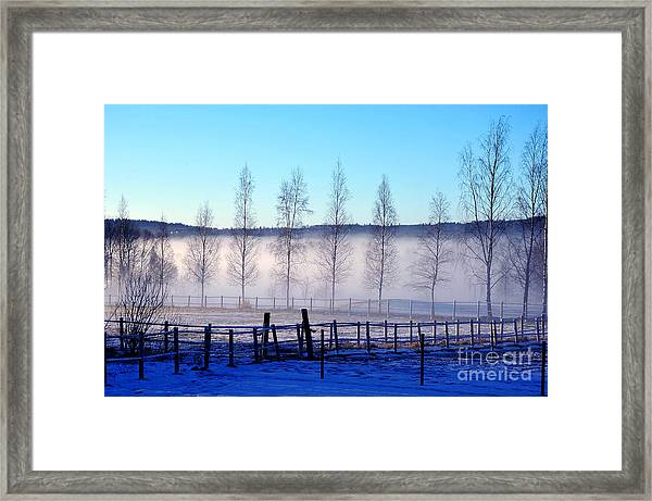 A Day Off Framed Print