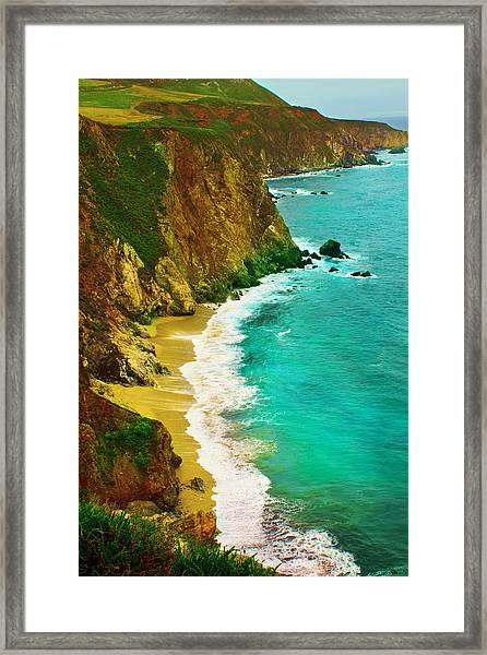 A Day On The Ocean Framed Print