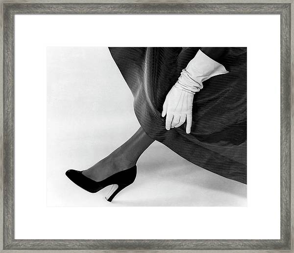 A Deliso Debs Pump Framed Print