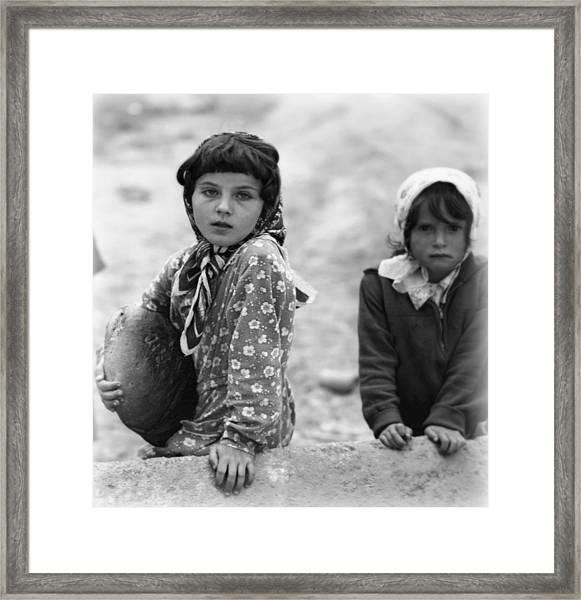 A Different Childhood Framed Print