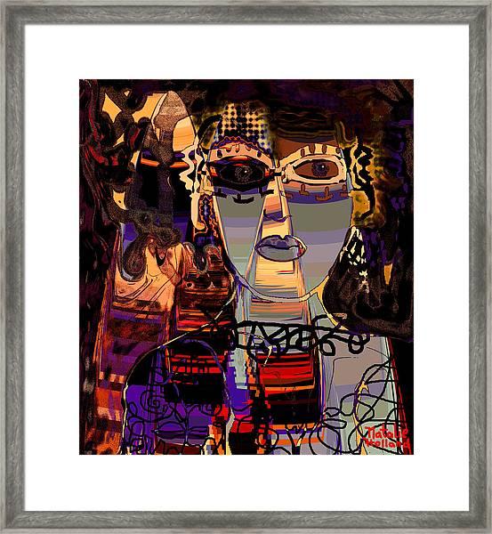 A Difficult Woman Framed Print
