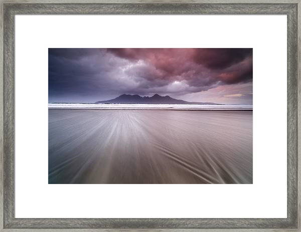 A Dream Called Ra?m Framed Print by Luigi Ruoppolo
