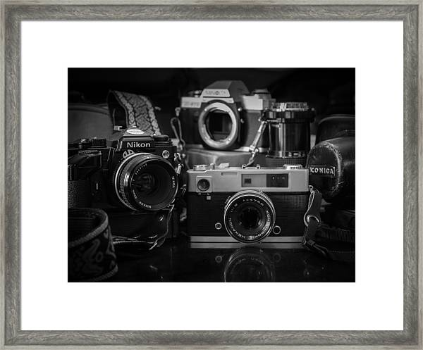 A Few Of My Favorite Things Framed Print