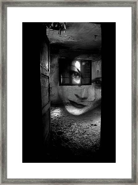 A Ghost Framed Print