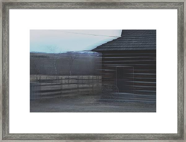 A Glance Back 2 Framed Print