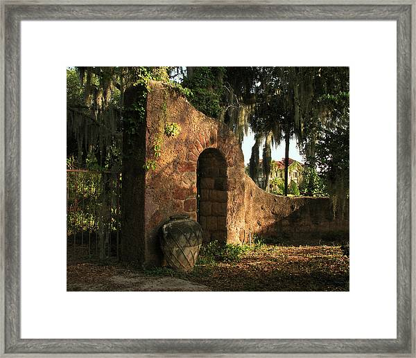 A Glimpse Into Yesteryear  Framed Print