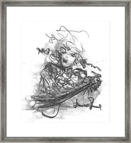 A Great Musician Framed Print