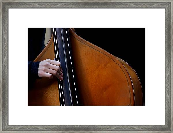 A Hand Of Jazz Framed Print