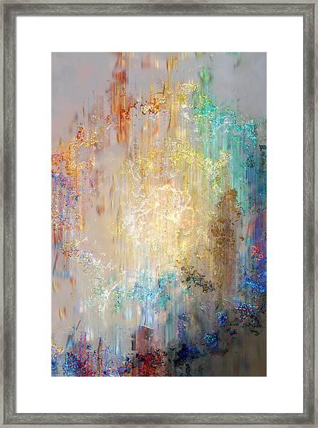 A Heart So Big - Custom Version 2 - Abstract Art Framed Print