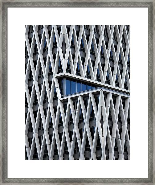 A Hint Of Blue Framed Print by Jef Van Den
