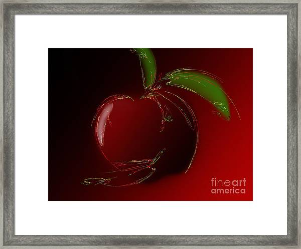 A Is For Apple 1 Framed Print